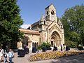 Chapelle de Vajdahunyad à Budapest, Hongrie.jpg