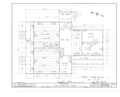 Charles Applegate House, Yoncalla, Douglas County, OR HABS ORE,10-YONC.V,1- (sheet 2 of 12).png