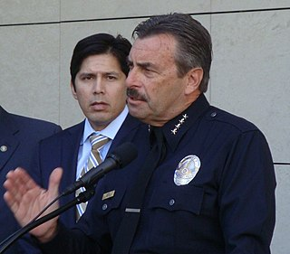 Chief of the Los Angeles Police Department