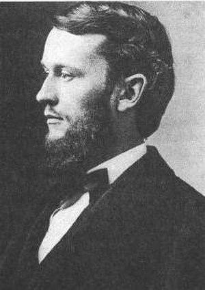 Charles Doolittle Walcott - Charles Doolittle Wallcott in 1873