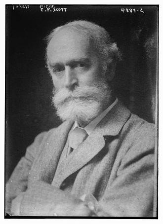 C. P. Scott - Scott in 1919