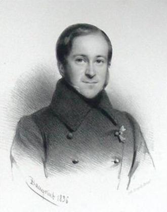 Iron Cross (Belgium) - Viscount Charles Vilain XIIII, a recipient of the 1830 Iron Cross