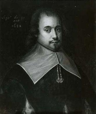 Charles de Menou d'Aulnay - 1642 portrait of Charles de Menou d'Aulnay