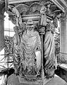 Chartreuse de Champmol (ancienne) - Puits de Moïse - Zacharie et Daniel - Dijon - Médiathèque de l'architecture et du patrimoine - APMH00020844.jpg