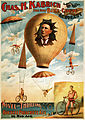 Chas. H. Kabrich, the only bike-chute aeronaut, poster, 1886.jpg