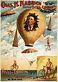 Chas. H. Kabrich, the only bike-chute aeronaut, poster, 1886.jpg