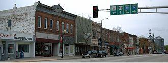 Minnesota State Highway 74 - Image: Chatfield M Ndowntown 2006 05 01