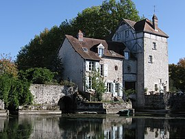 Old mill on the Loire