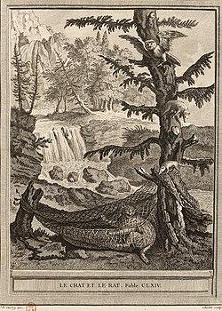Chedel-Oudry-La Fontaine-Le chat et le rat.jpg