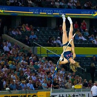 Chelsea Johnson American pole vaulter