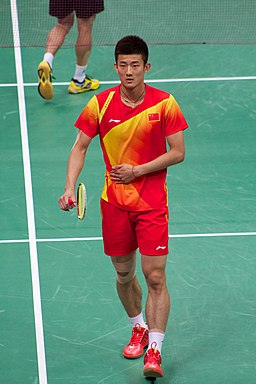 Chen Long in Olympics Games 2012