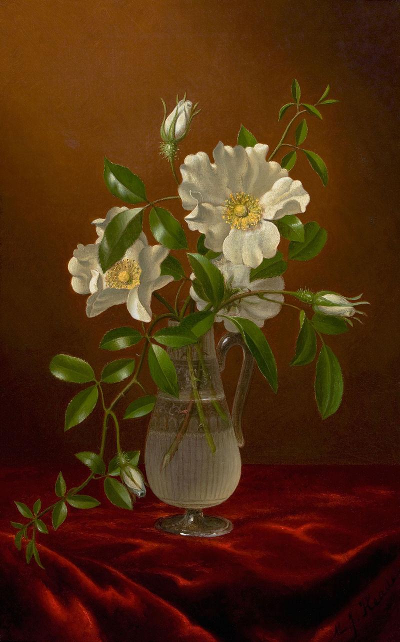 Cherokee Roses in a Glass Vase-Martin Johnson Heade.jpg