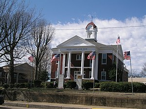 Chester County, Tennessee - Image: Chester county tennessee courthouse