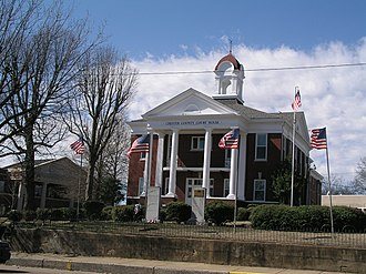 Jackson metropolitan area, Tennessee - Chester county Tennessee courthouse