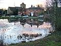 Chiddingfold Pond and Church - geograph.org.uk - 291836.jpg
