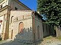 Chiesa della Purificazione di Maria Vergine (Santa Maria del Piano, Lesignano de' Bagni) - angolo sud-ovest 2019-06-26.jpg
