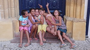 Children in North Nicosia