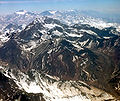 Chile 10 2007 Aconcagua 10 from Santiago airway.jpg