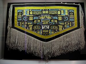 University of Alaska Museum of the North - Chilkat blanket in the collection