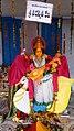 Chinalingala Dussera 2016 Sri Saraswathi devi Alamkaram by Girikonda.jpg