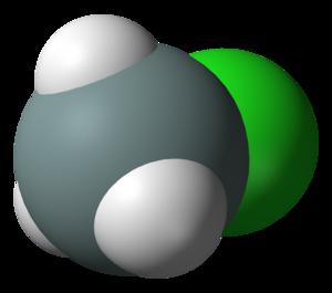 Chlorosilane - Image: Chlorosilane 3D vd W