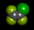 Chlorotrifluoroethylene CPK.png