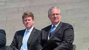 Chris Koster - Chris Koster and Jay Nixon, 2011