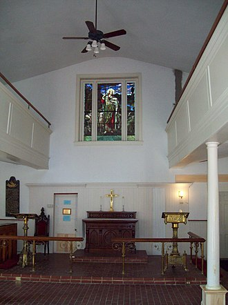 Christ Church Guilford - Image: Christ Church Guilford Interior Sept 09
