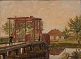 Christen Købke - The Northern Drawbridge to the Citadel in Copenhagen - KMS3768 - Statens Museum for Kunst.jpg