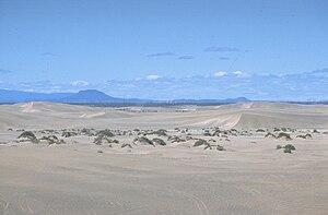 Sand dunes east of Christmas Valley, Oregon.