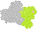 Chuelles (Loiret) dans son Arrondissement.png
