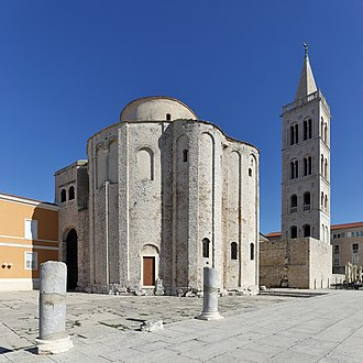 Zadar - St. Donatus church, 9th century