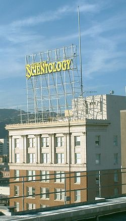 Scientology building in Hollywood, Los Angeles, California
