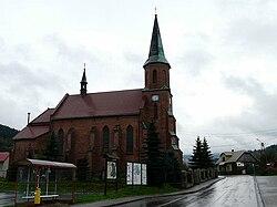 Church of St Anne in Stryszawa