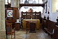 Church of St Mary Hatfield Broad Oak Essex England - south aisle chapel.jpg