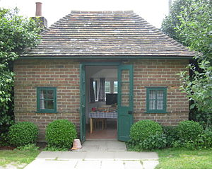 Wendy house - Playhouse built at Chartwell by Winston Churchill for his children