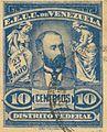 Cipriano Castro stamp, 1905.jpg