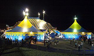 Cirque du Soleil's Grand Chapiteau in Barcelona