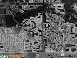 Satellite view of Plantation
