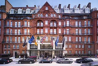 Claridges Hotel in London