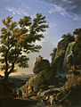 Claude-Joseph Vernet - Landscape with Waterfall and Figures - Walters 372411.jpg