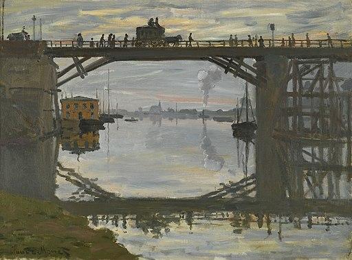 Claude Monet - Le Pont de Bois