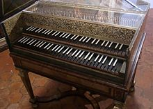 photo : clavecin Donzelague