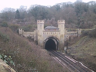 Clayton, West Sussex - Clayton Tunnel, North Entrance