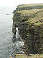 Cliffs near Burgh Head, Stronsay - geograph.org.uk - 217246.jpg