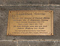 Clonmel West Gate Laurence Sterne Memorial Plaque 2012 09 06.jpg
