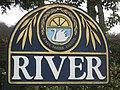 Close-up River Village Sign - geograph.org.uk - 2302972.jpg