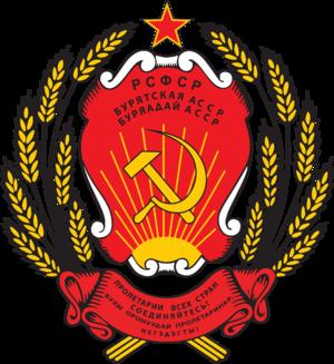 Buryat Autonomous Soviet Socialist Republic