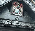 Coat of arms above the door of the Old House Hereford.jpg