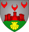 Coat of arms of Bourscheid